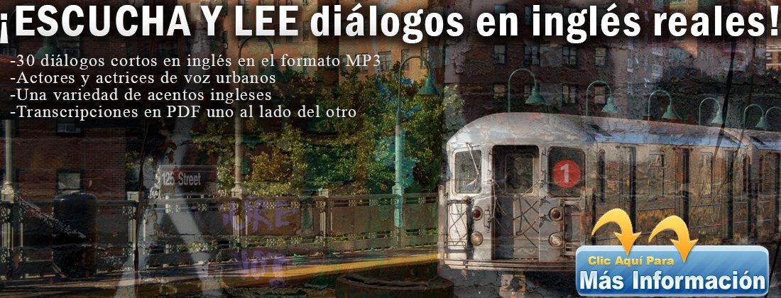 ESCUCHA Y LEE diálogos en inglés reales